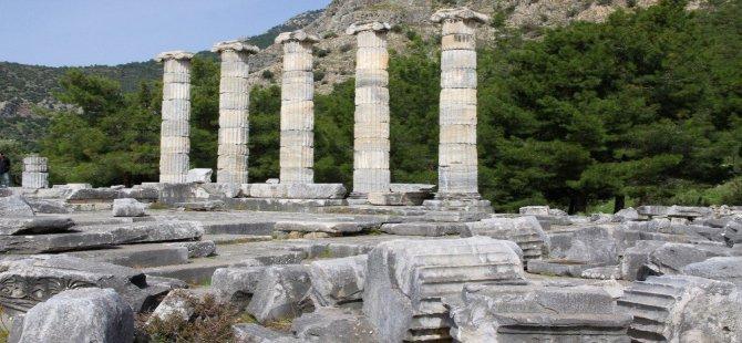 Priene Antik Kenti Unesco Dünya Miras Geçici Listesi'nde