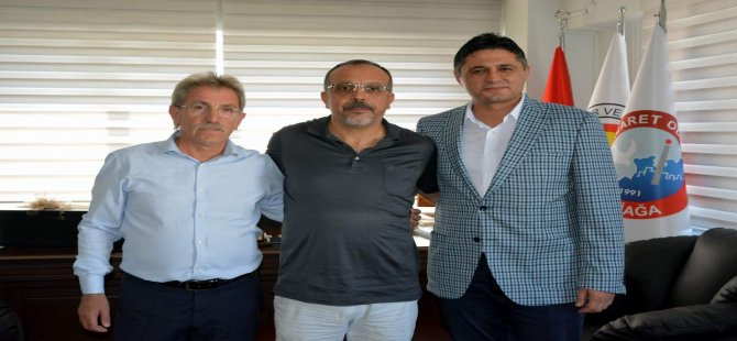 Başkan Serkan Acar'dan Alto Başkanı Ertürk'e İade-i Ziyaret