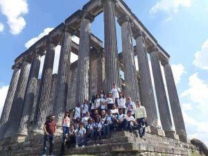 24 Ülkeden Çavdarhisar'a Gelen Öğrenciler Aizonai Antik Kenti'ne Hayran Kaldı
