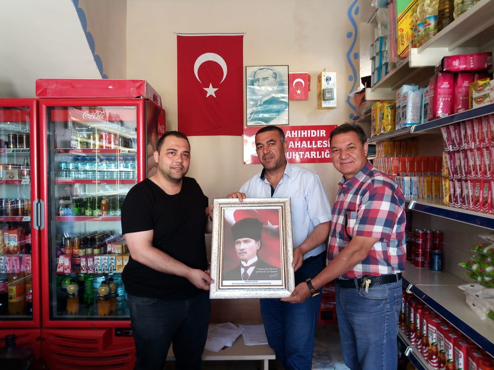 Başkan Serdar Aksoy'dan Muhtarlara Anlamlı Bayram Hediyesi