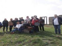 Aizonai Antik Kenti'ne Ziyaretçi Akını