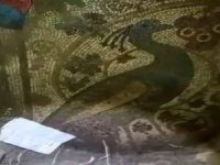 Definecilerin Satmaya Çalıştığı Mozaik Bin 800 Yıllık Çıktı