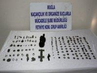 Fethiye'de Tarihi Eser Operasyonu
