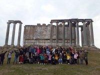 Aizonai Antik Kenti'ne Sezonun İlk Turları Başladı
