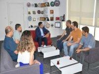 Tisna Arkeoloji Heyetinden Başkan Serkan Acar'a Ziyaret