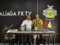 Aliağaspor FK Genç Golcüyü Renklerine Bağladı