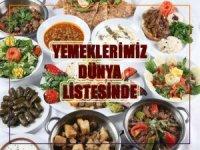 Yemeklerimiz Dünya Listesinde