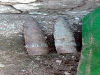 Manisa'da İnşaattan Tarihi 2 Top Mermisi Çıktı