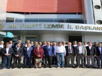 AK Parti İzmir İl Başkanlığı Başbakan'a Hazırlanıyor