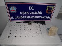 Uşak'ta Tarihi Eser Operasyonu