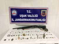 Uşak'ta Tarihi Eser Operasyonu Olayla İlgili 3 Şüpheli Gözaltına Alındı.