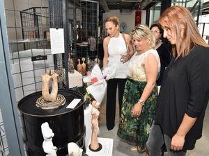 Yeşilova Höyüğü Ziyaretçi Merkezi'nde Minos'tan esintiler