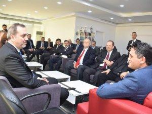 Deniz Ticaret Odası'ndan Başkan Serkan Acar'a Ziyaret