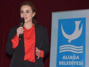 Aliağa Belediyesi'nden Genç Sporculara Beslenme Semineri